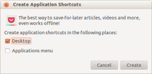 Create Application Shortcuts_016